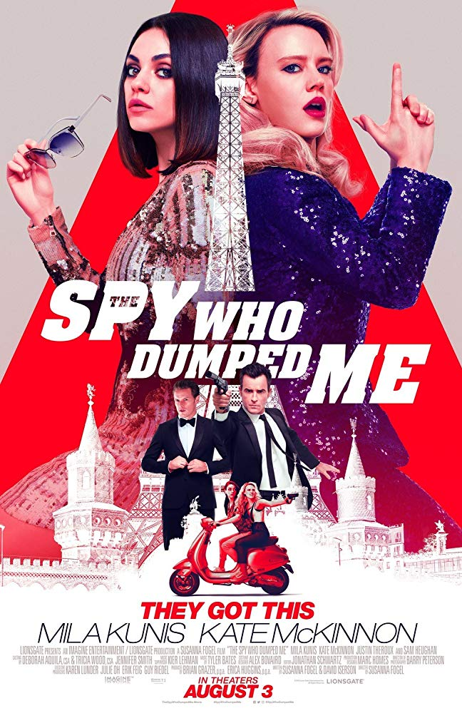 THE SPY WHO DUMPEDME (2018)