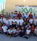 Indios convive con alumnos de la Primaria Luis Arnoldo Núñez