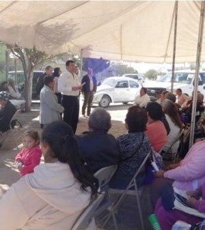 Atienden Más de Mil Ciudadanos en Visitas Vecinales