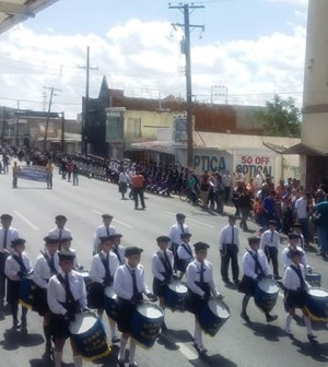 Listo Desfile del 20 de Noviembre