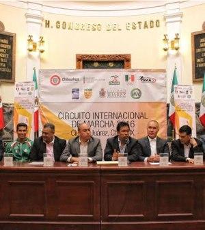 Será Juárez Sede del Circuito Internacional de Marcha 2016