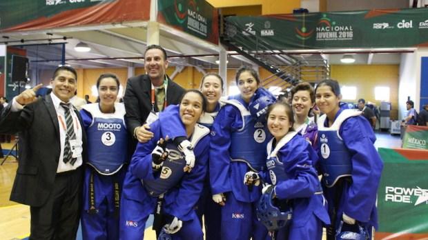 nacional juvenil taekwondo oro