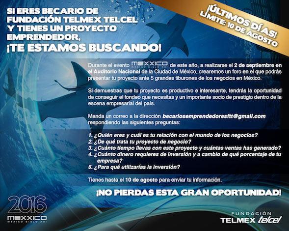 Invitacion fundacion telmex telcel