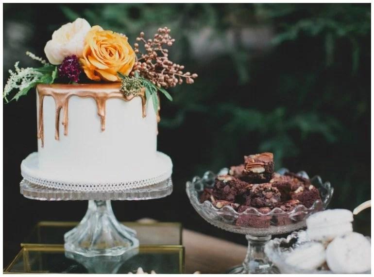 Wunderschöne Dekoration für eine Feier im Herbst - zauberhafte Dessert und Rezept für die Zeit um Thanksgiving