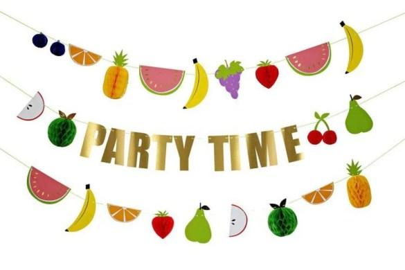 Tutti Frutti Party und Sommer Party Dekoration, Ideen und DIY