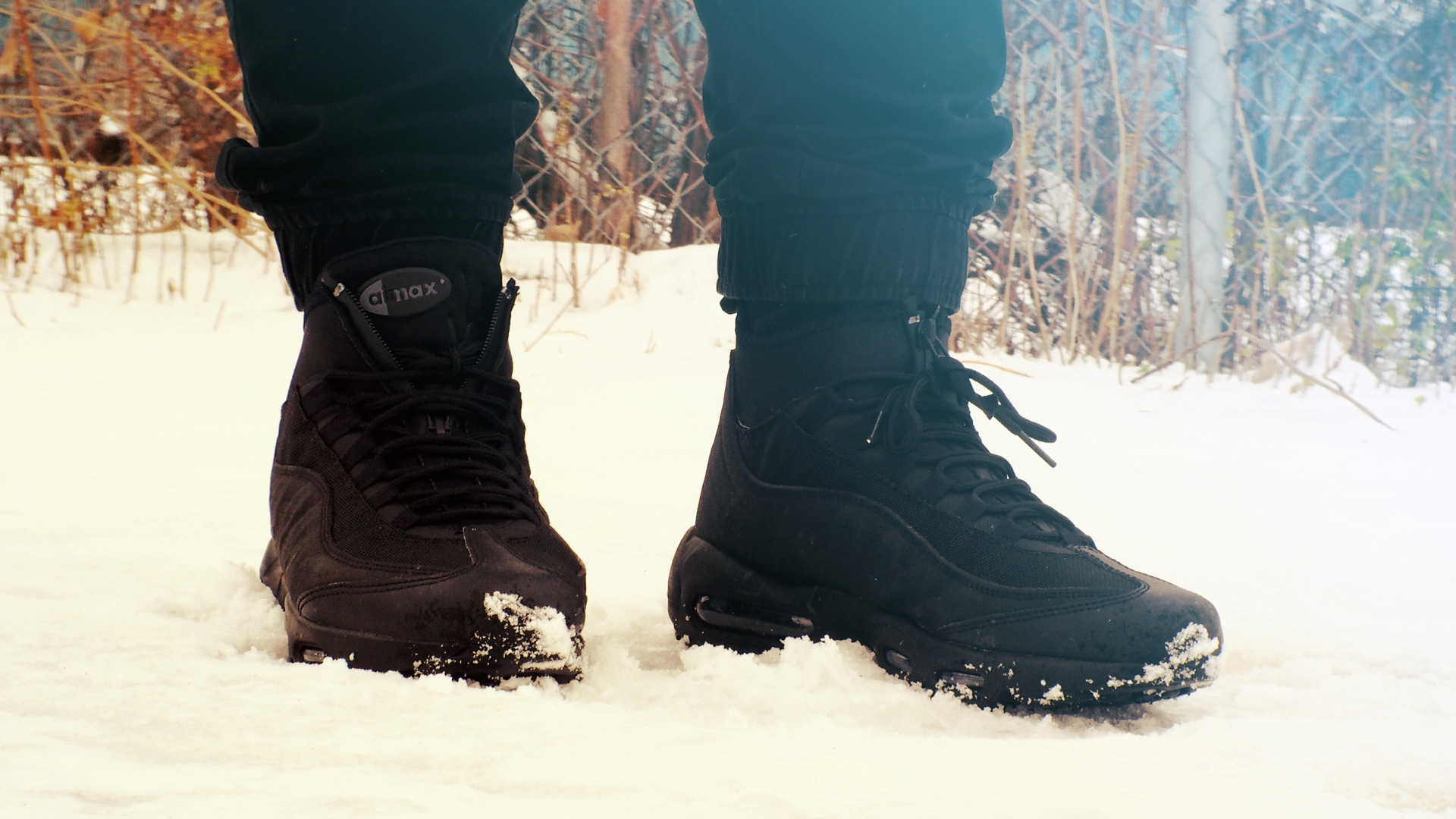big sale e62ae 21afb Review] Air Max 95 Sneakerboots (black/black) – Juberry
