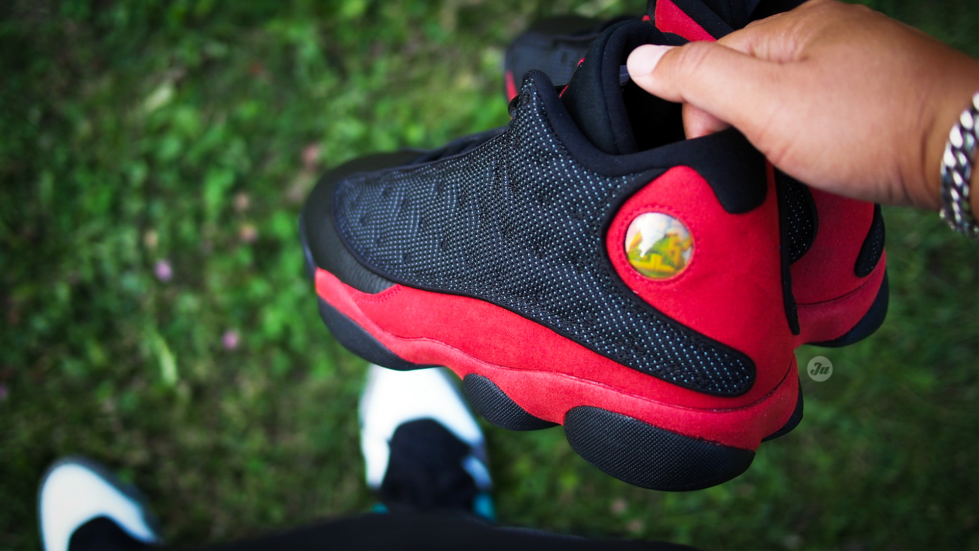 On-feet photos and video of the recently released Air Jordan XIII Bred (2017  release) f16171f5f