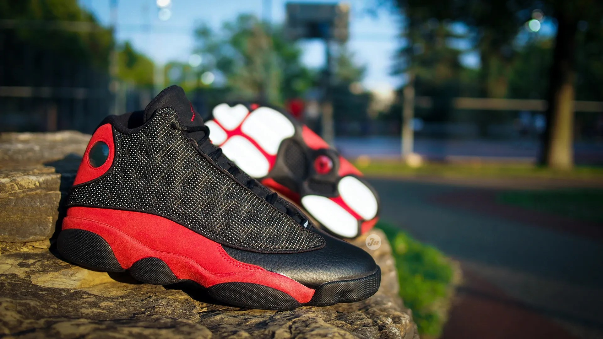 On-feet photos and video of the recently released Air Jordan XIII Bred (2017 bc8cd9767
