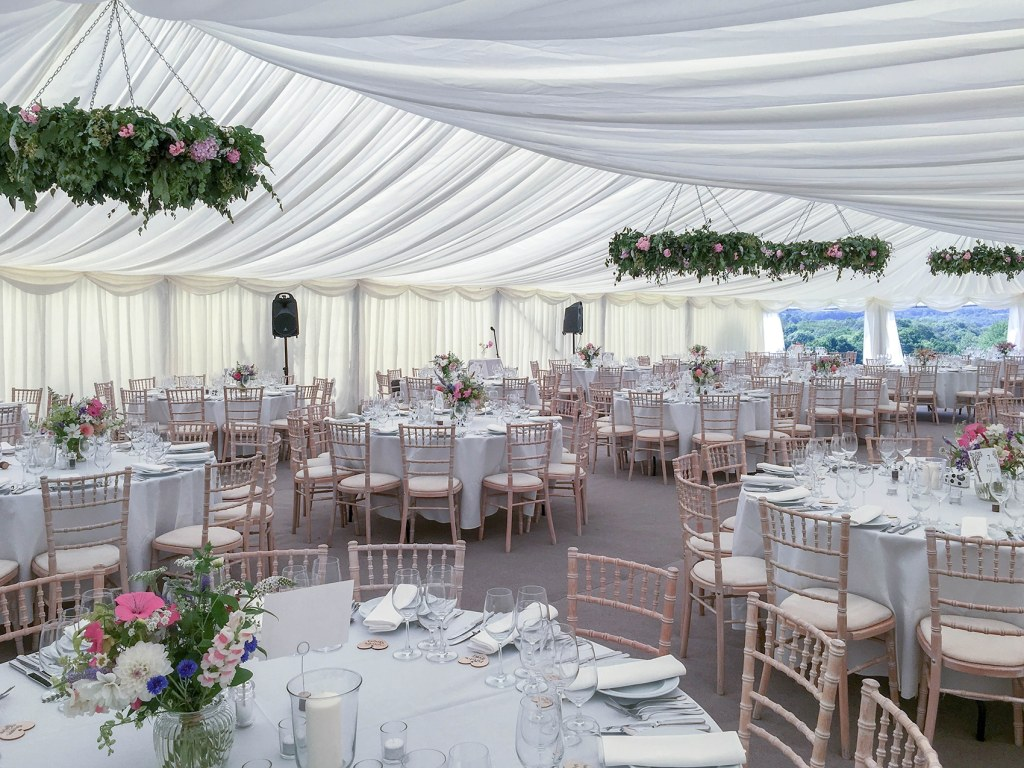 marquee hire example