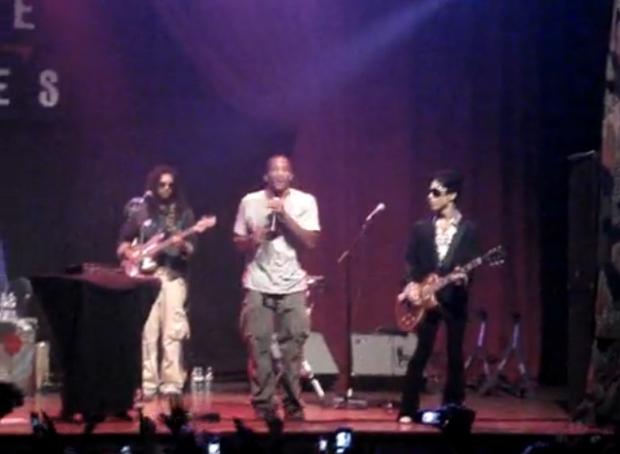 Q-Tip en live avec Prince