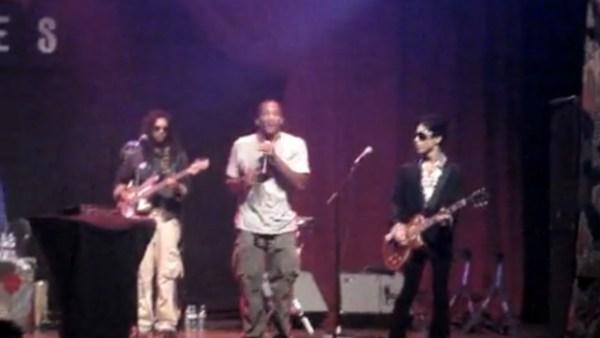Q-Tip et Prince en live