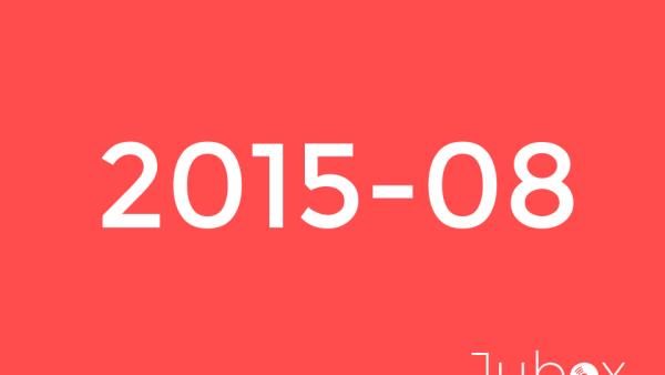 Aout 2015 playlist