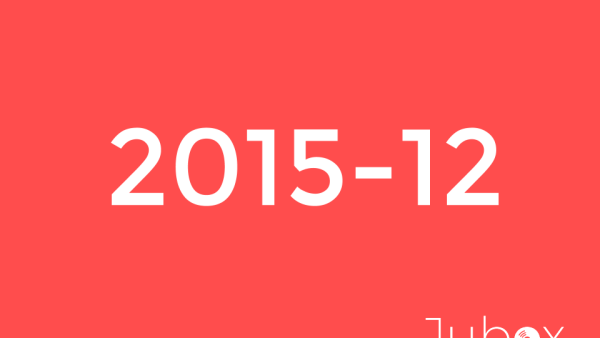 Decembre 2015 playlist