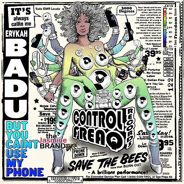 Erykah Badu - But You Caint Use My Phone (Mixtape)