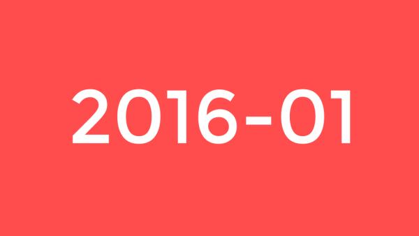 Janvier 2016