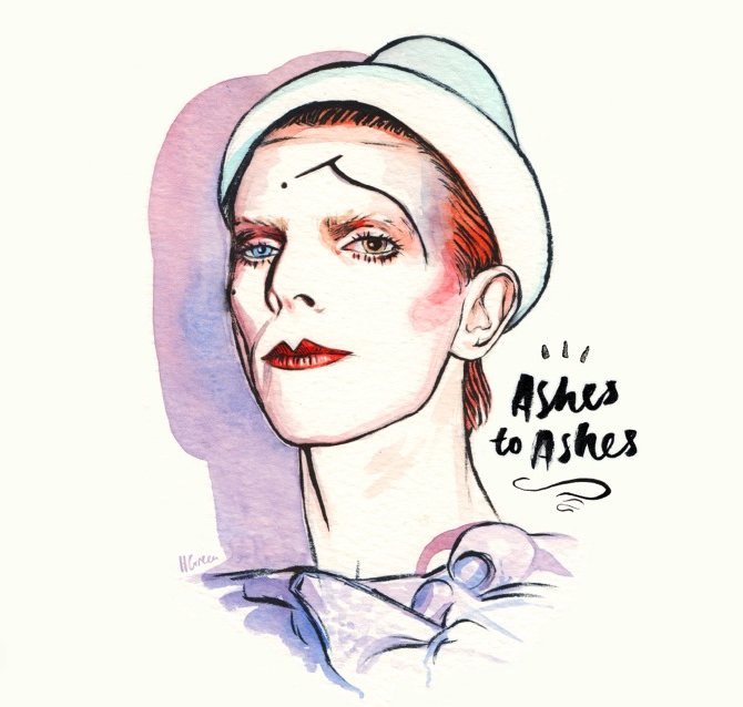 David Bowie - Ashes to ashes