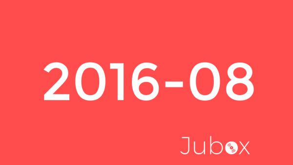 Playlist - Aout 2016
