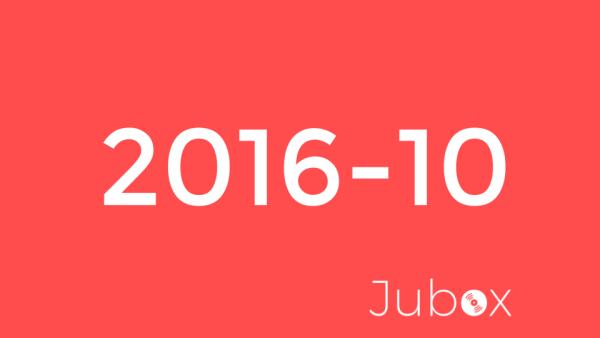 Playlist Octobre - Jubox