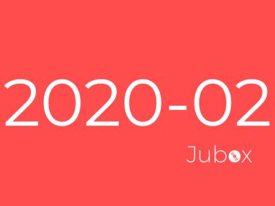 Playlist Jubox Février 2020