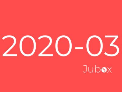 Playlist Jubox Mars 2020