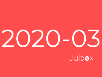 Playlist Jubox Mars 2020