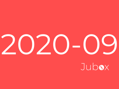 Playlist Jubox Septembre 2020
