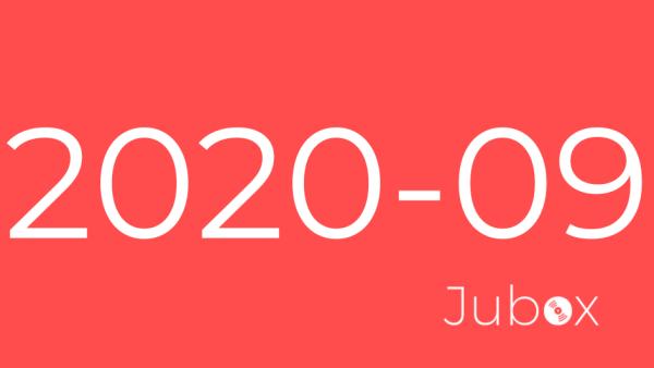 Playlist Jubox Septembre 2020