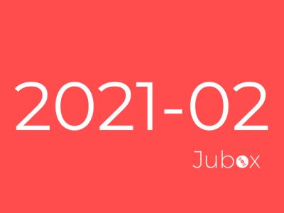 Playlist février 2021 Jubox