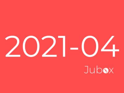 Playlist Avril 2021 Jubox