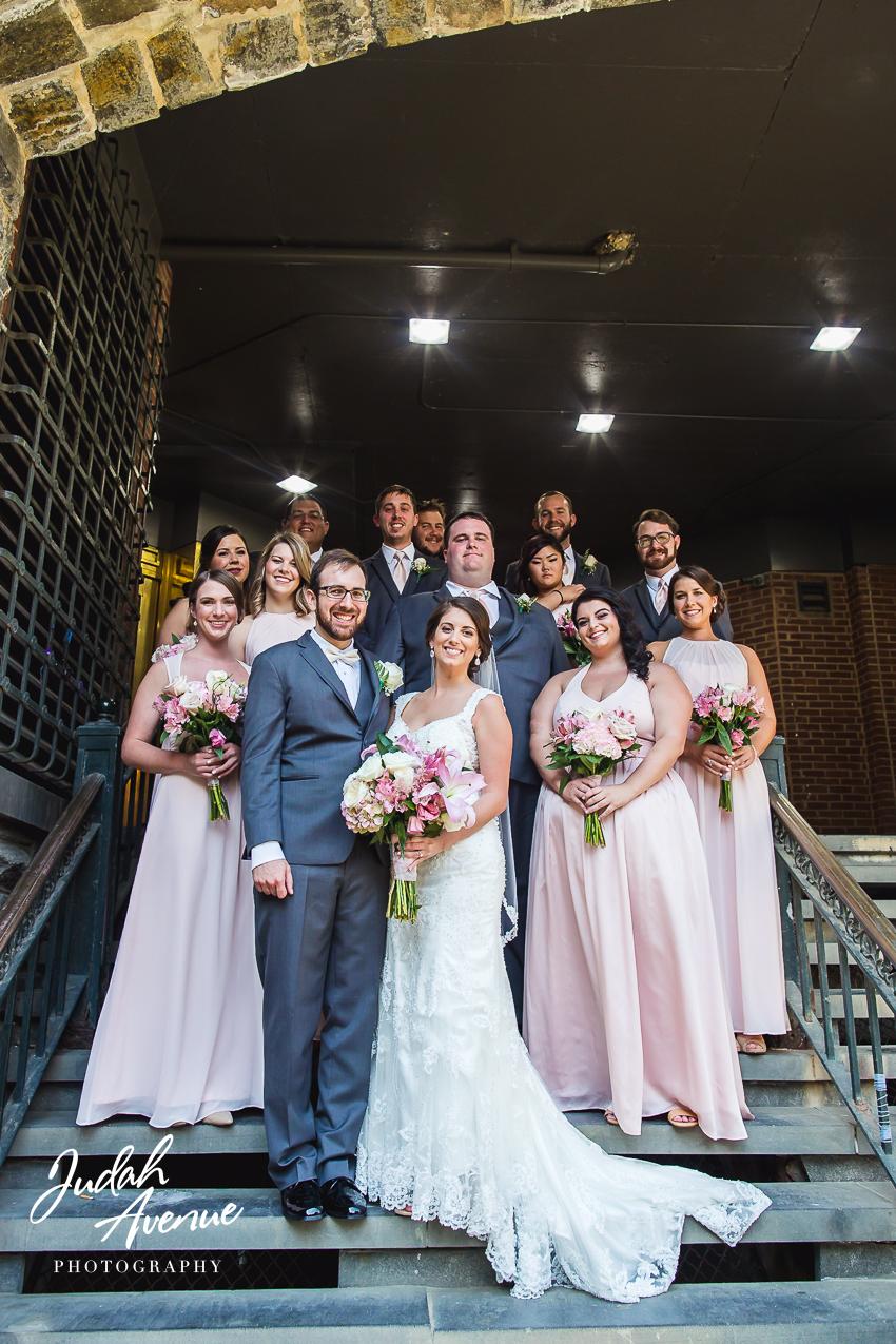 Lauren And Bens Wedding At Pinstripes Georgetown In