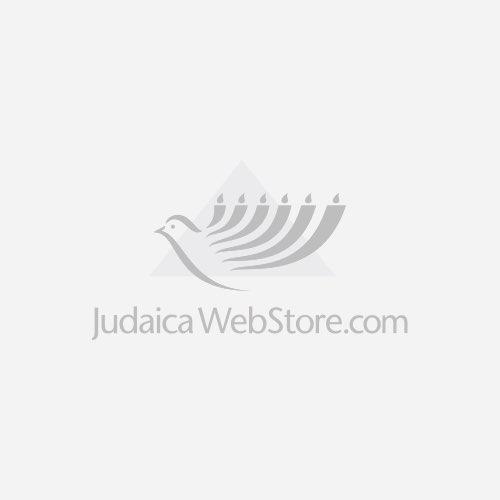 Large Blue Enamel And 14k Gold Diamond Star Of David