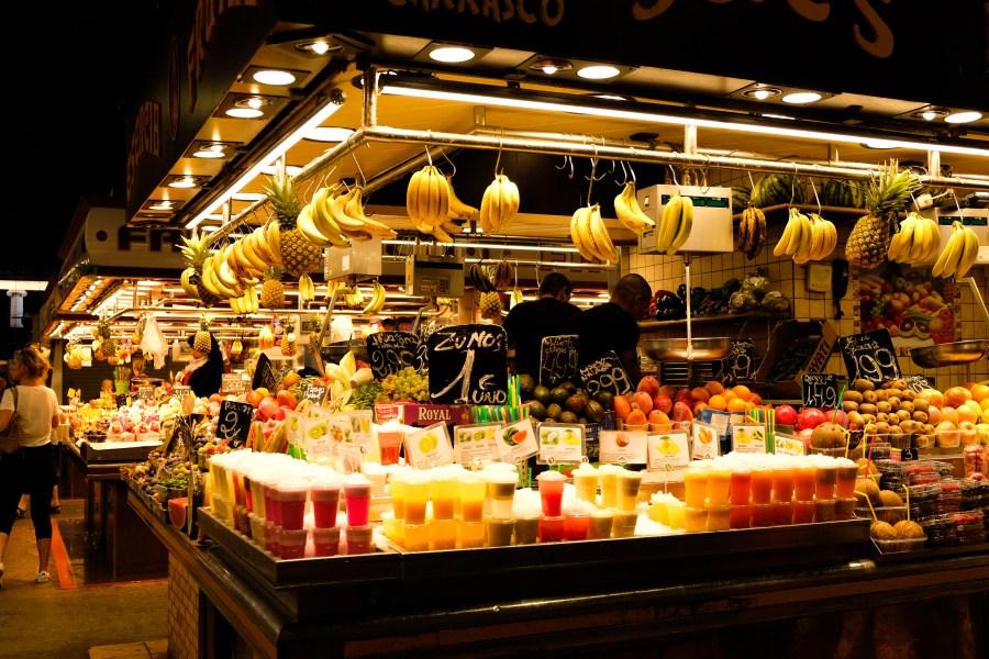 Mercat de la Boqueria - Barcelone