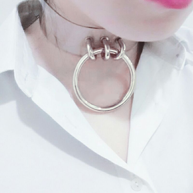 O Ring Transparent Choker JuDeLovesYou