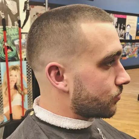 Mens-Haircut-Low-Fade-Beard-Trim-Judes-Barbershop-Eastown