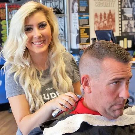 Mens-Haircut-Low-Fade-Judes-Barber-Shop-East-Beltline