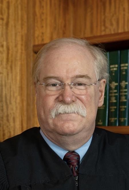 Judge Pat Diamond in Robes