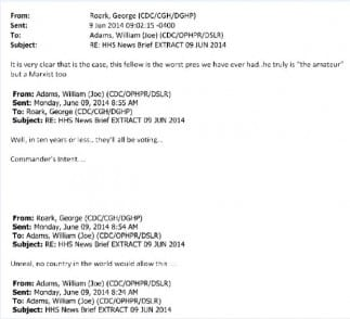 CDC Email Evidence