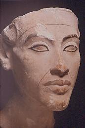 Der junge Amenhotep IV. Berlin, Äg. Museum