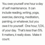 An Hour a Day for You