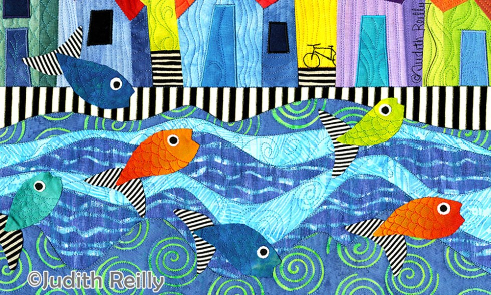 Fish Village by Judith Reilly