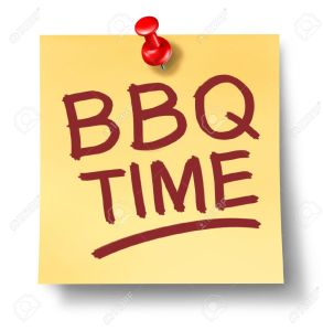 20688350-Barbecue-office-note-saying-BBQ-