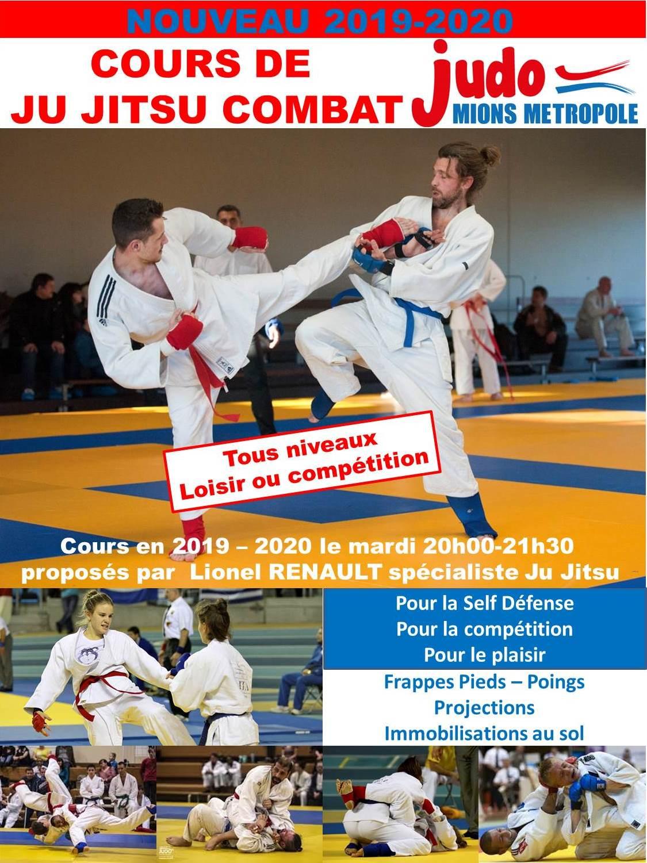 Cours d'essai de Ju Jitsu le 25 juin 2019!