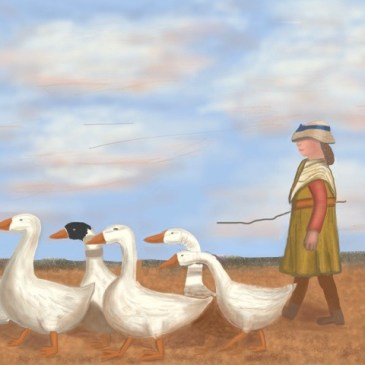 To Pastures New -after James Guthrie