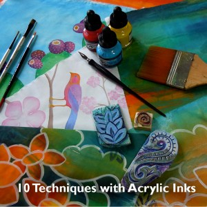 Acrylic Inks box