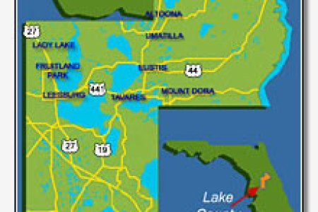 map of lake county » Best world and countries maps | World and ...