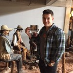 Grandson Brady, Stockyard museum, Fort Worth, TX