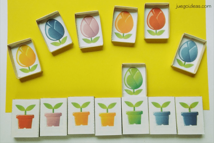 Juegos Incluido Cajas De Didácticos Fósforosimprimible Hechos Con v08wnmN