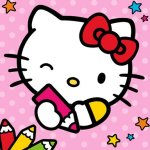 Color With Hello Kitty