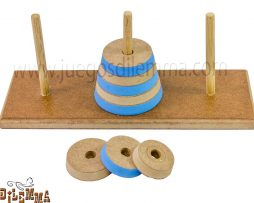 juego de las torres de hanoi