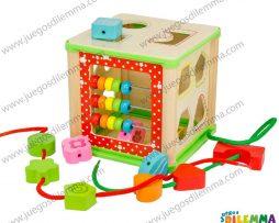 caja multifuncional sin laberinto